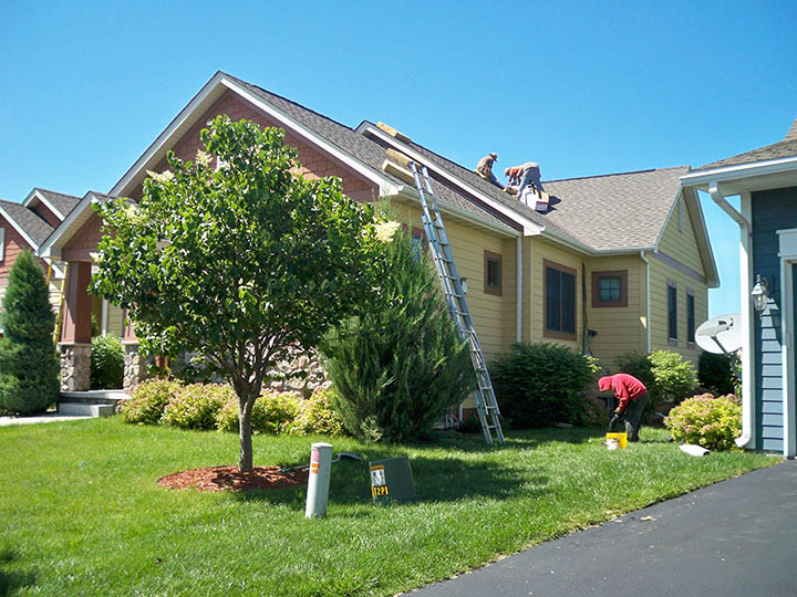 Midwest residential Roofing