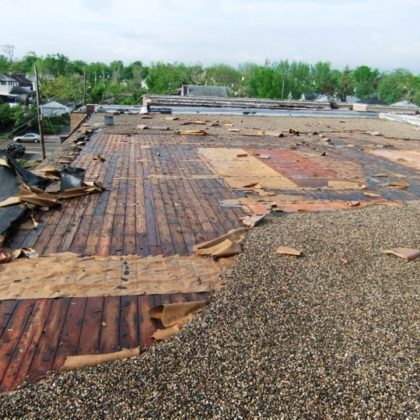 What Makes a Flat Roof Fail