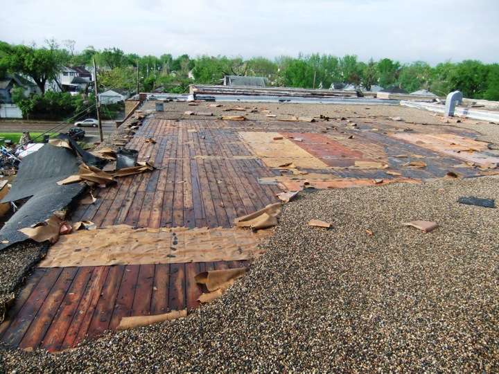What Makes A Flat Roof Fail All Elements Inc