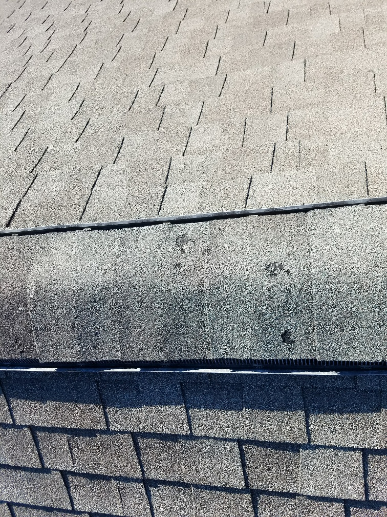 Hail Damage on Shingle Roofs