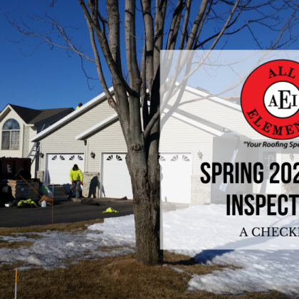 Spring 2020 Roof Inspections: A Checklist