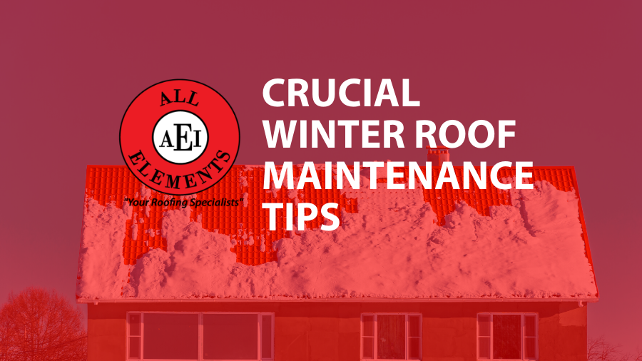 Crucial Winter Roof Maintenance Tips