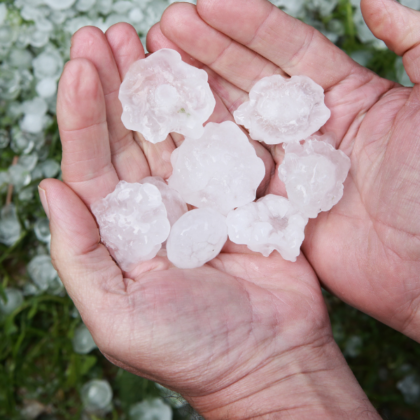 How To Identify Roofing Hail Damage and File an Insurance Claim