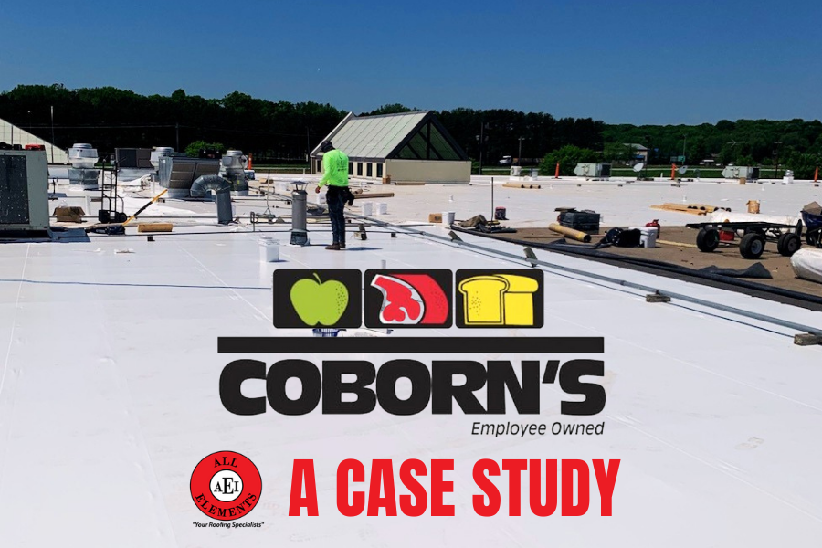 A Commercial Roof Replacement Case Study: Coborn's, Inc